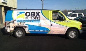 Van Wrap Graphics CPE2