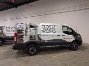 Van Wrap Graphics CSW5