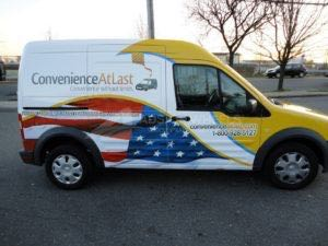 Van Wrap Graphics CVL