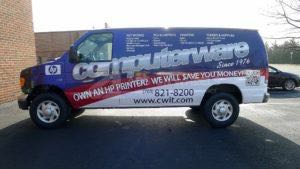 Van Wrap Graphics CWI