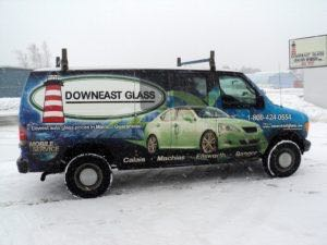 Van Wrap Graphics DEG