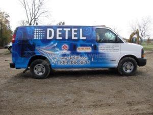 Van Wrap Graphics DETEL 2