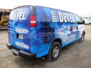 Van Wrap Graphics DETEL