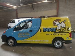 Van Wrap Graphics DGZ