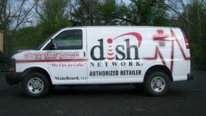 Van Wrap Graphics DISH