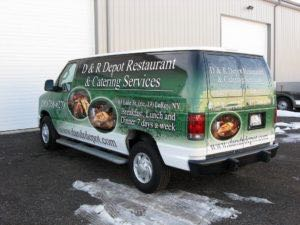 Van Wrap Graphics DRD