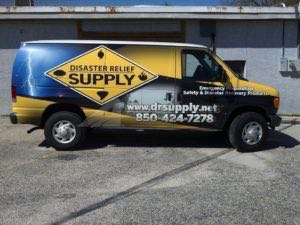 Van Wrap Graphics DRS