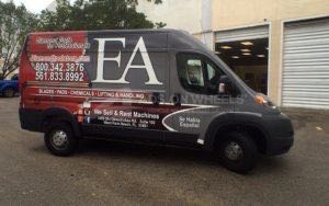 Van Wrap Graphics DTS