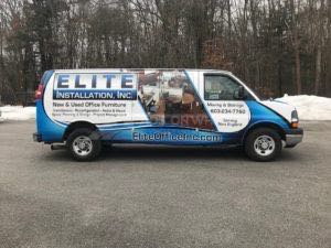 Van Wrap Graphics EIF