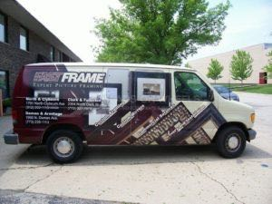 Van Wrap Graphics FASTFRAME