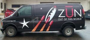 Van Wrap Graphics FBB2