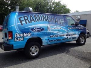 Van Wrap Graphics FFL