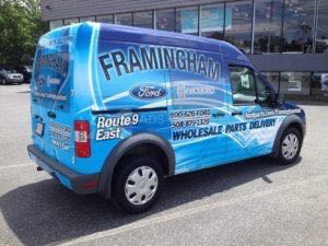 Van Wrap Graphics FFL TRANSIT