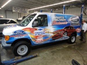 Van Wrap Graphics FOB ESERIES