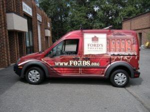 Van Wrap Graphics FOR