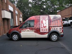 Van Wrap Graphics FOR2