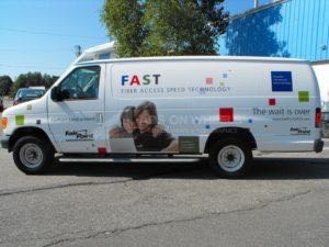 Van Wrap Graphics FPC