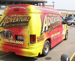 Van Wrap Graphics FVB