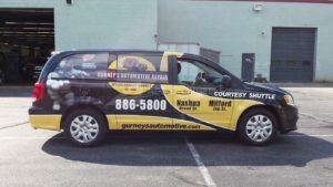 Van Wrap Graphics GAR2