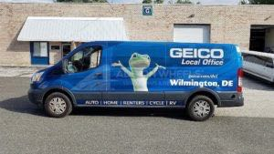 Van Wrap Graphics GEC AS