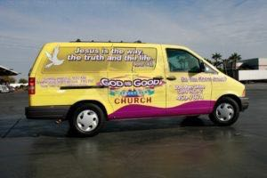 Van Wrap Graphics GIG