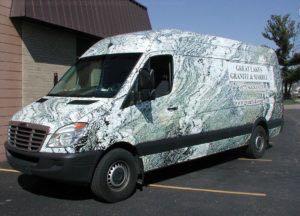 Van Wrap Graphics GLG
