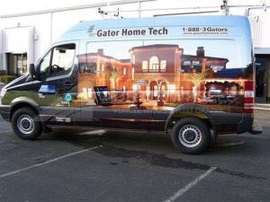 Van Wrap Graphics GSE