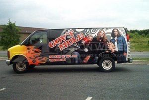 Van Wrap Graphics Govt Mule