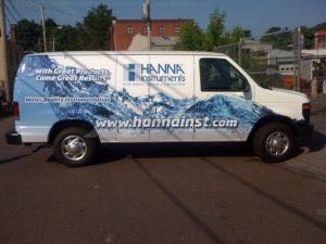 Van Wrap Graphics HNZ