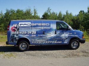 Van Wrap Graphics ISP Prospeed
