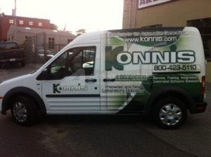Van Wrap Graphics KON