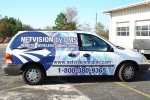 Van Wrap Graphics NETVision