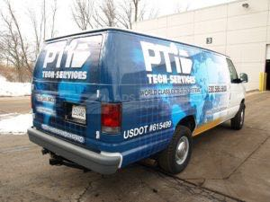 Van Wrap Graphics PTI