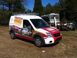 Van Wrap Graphics SEG