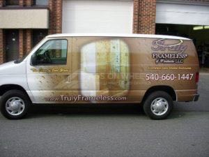 Van Wrap Graphics TFL