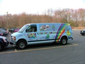 Van Wrap Graphics TLE
