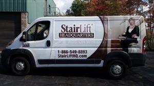 Van Wrap Graphics Acorn Stairlift SLHQ