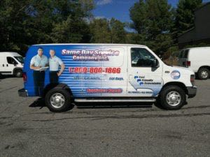 Van Wrap Graphics Appliance SDS