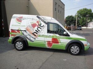 Van Wrap Graphics Beverage Hint Drink TGH3