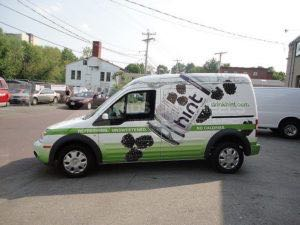 Van Wrap Graphics Beverage Hint Drink TGH4