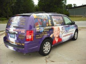 Van Wrap Graphics Bounce Franchise PIU KH
