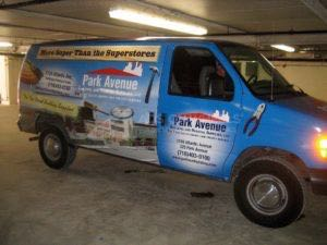 Van Wrap Graphics Builders PAB