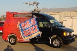 Van Wrap Graphics Buzz