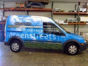 Van Wrap Graphics Cargo GSC
