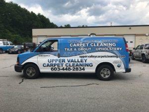Van Wrap Graphics Carpet Cleaning UVC
