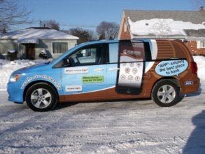 Van Wrap Graphics Cell Phone MSC2
