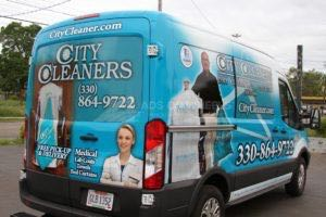 Van Wrap Graphics Cleaners JST5