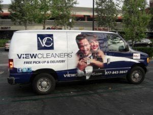 Van Wrap Graphics Cleaners VIEW