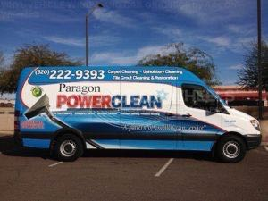 Van Wrap Graphics Cleaning PPC