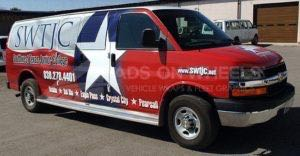Van Wrap Graphics Colleg TJC